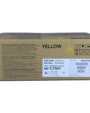 Картридж 842074  type MP C7501E 841411 для Aficio MP C6501/C7501  yellow, ресурс 21600 стр