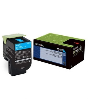 Картридж 70C8HCE 708HC для Lexmark  Corporate Cartridge для CS310/410/510/517 cyan ресурс 3